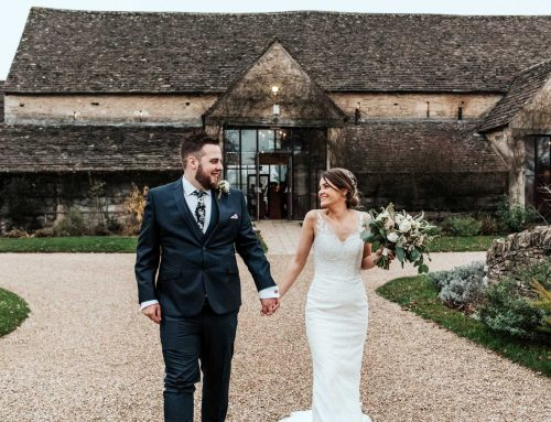 Katie and Mike at The Great Tythe Barn