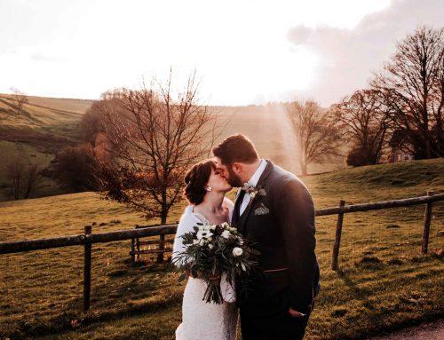 Chris & Lydia at Kingscote Barn